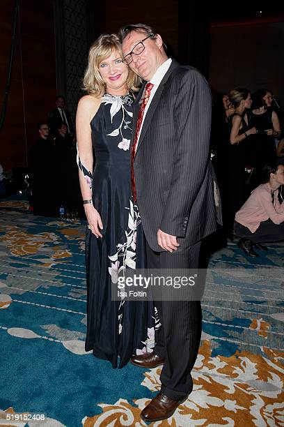 Nanna Kuckuck and Dirk Ullmann attend the Victress Awards Gala on 2016 in Berlin Germany