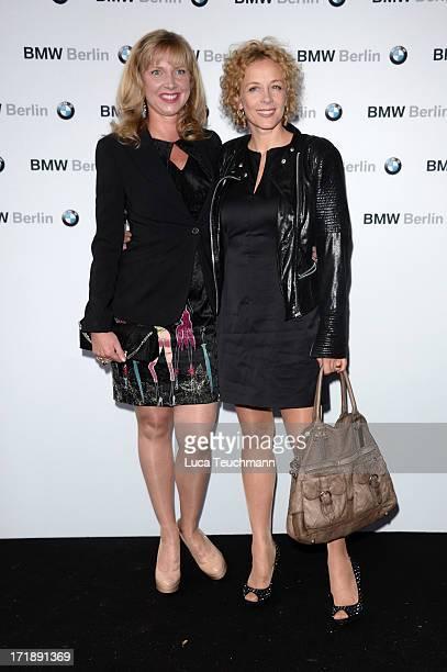 Nanna Kuckuck and Katja Riemann attend the 'BMW Golf Cup International 2013 Charity Gala' at BMW Berlin on June 29 2013 in Berlin Germany
