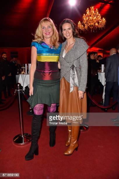 Nanna Kuckuck and Katrin Wrobel attend the Palazzo VIP premiere on November 8 2017 in Berlin Germany