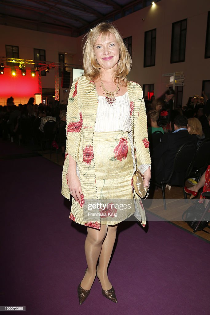 Nanna Kuckuck attends the Victress Day Gala 2013 at the MOA Hotel on April 8, 2013 in Berlin, Germany.