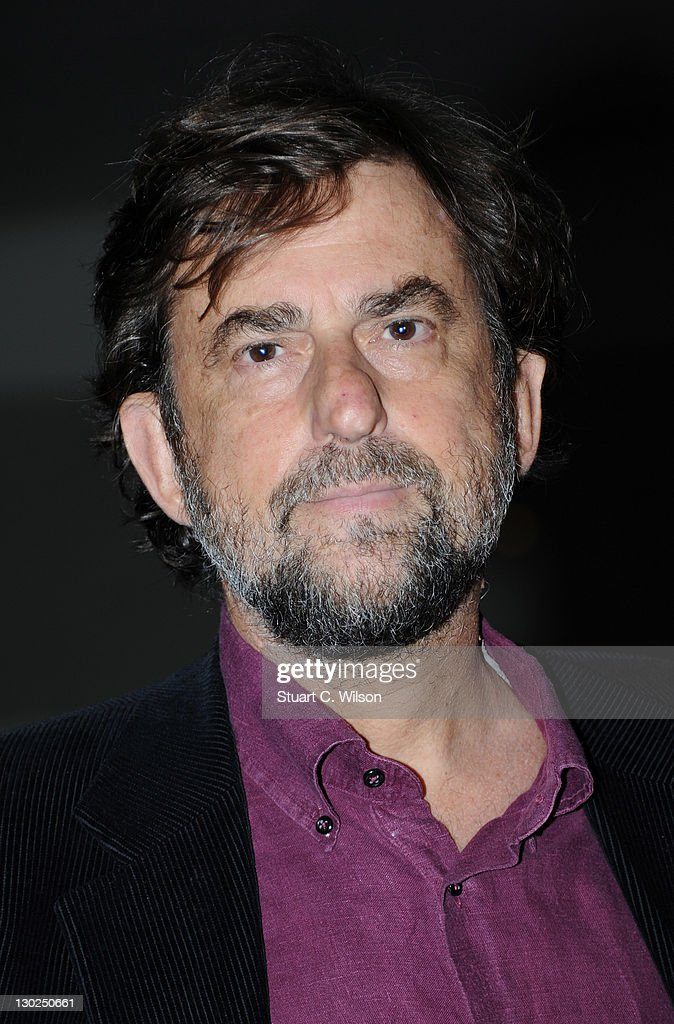<a gi-track='captionPersonalityLinkClicked' href=/galleries/search?phrase=Nanni+Moretti&family=editorial&specificpeople=621165 ng-click='$event.stopPropagation()'>Nanni Moretti</a> attends the Premiere for 'We Have A Pope' at the 55th BFI London Film Festival at BFI Southbank on October 25, 2011 in London, England.
