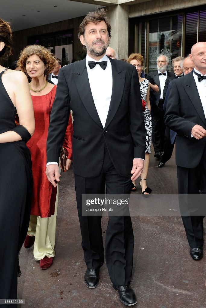 <a gi-track='captionPersonalityLinkClicked' href=/galleries/search?phrase=Nanni+Moretti&family=editorial&specificpeople=621165 ng-click='$event.stopPropagation()'>Nanni Moretti</a> is seen during The 64th Annual Cannes Film Festival on May 13, 2011 in Cannes, France.