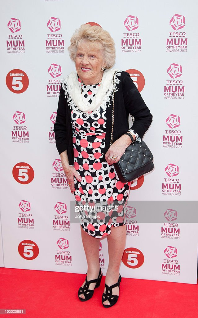Nanny Pat attends the Tesco Mum of the Year awards at The Savoy Hotel on March 3, 2013 in London, England.