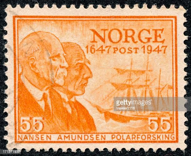 Tampon d'Amundsen Nansen et