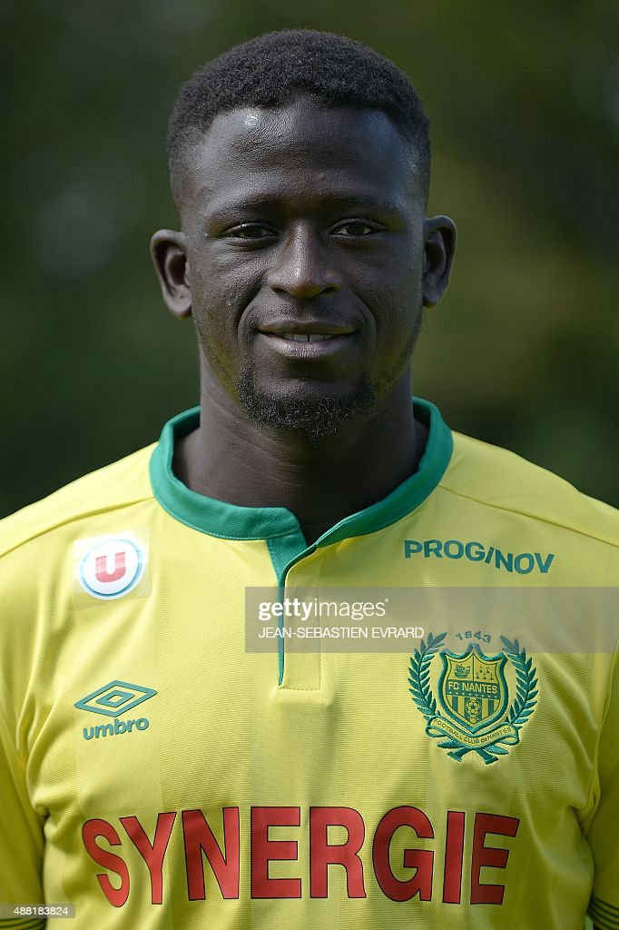 Nantes' French midfielder Abdoulaye Toure poses for the official picture on September 14, 2015 - nantes-french-midfielder-abdoulaye-toure-poses-for-the-official-on-picture-id488183824