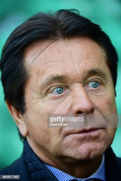 Nantes president Waldemar Kita during the Ligue 2 match between Paris FC and Nimes on September 29 2017 in Paris France