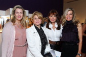 Nany Davis Ghada Irani Tawny Sanders and Lynn Palmer at Ladies' Luncheon hosted by Debra Black to Preview The Elizabeth Taylor Collection from...