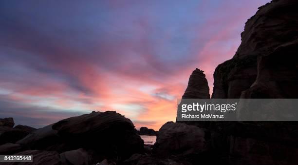 Nanya rock at dawn