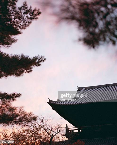 Nanzen-ji Temple at sunset