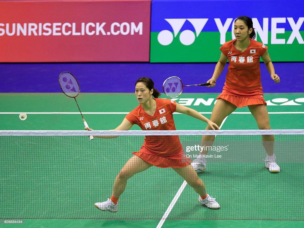 Yonex Hong Kong Open Badminton Championships 2016 Day 3 s
