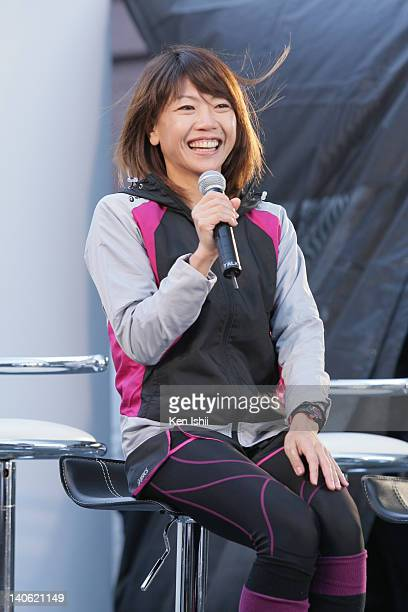 Naoko Takahashi attends the Sports of Heart at Yebisu Garden Place on March 3 2012 in Tokyo Japan