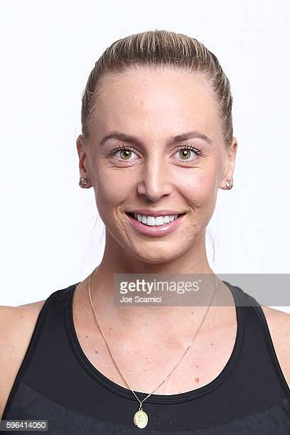 Naomi Broady of Great Britain poses for a WTA Portrait at Arthur Ashe Stadium on August 26 2016 in New York City