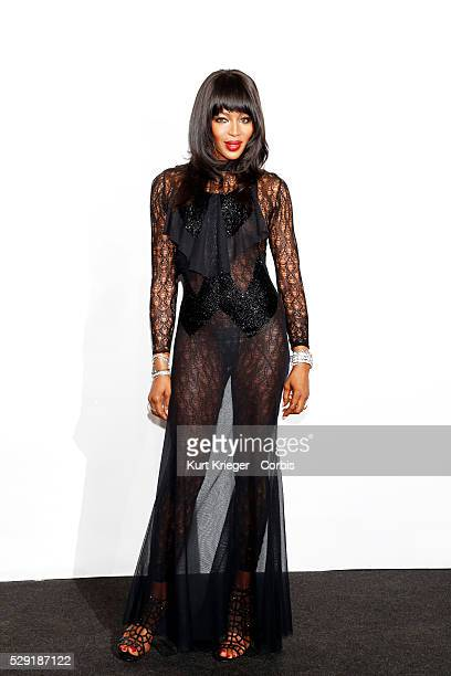 Naomi Campbell amfARs Milan Fashion Week Gala Milan Italy September 26 2015 ��Kurt Krieger