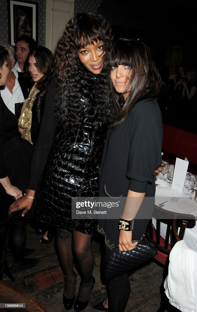 <a gi-track='captionPersonalityLinkClicked' href=/galleries/search?phrase=Naomi+Campbell&family=editorial&specificpeople=171722 ng-click='$event.stopPropagation()'>Naomi Campbell</a> (L) and <a gi-track='captionPersonalityLinkClicked' href=/galleries/search?phrase=Claudia+Winkleman&family=editorial&specificpeople=224036 ng-click='$event.stopPropagation()'>Claudia Winkleman</a> attend The Weinstein Company Dinner Hosted By Grey Goose in celebration of BAFTA at Dean Street Townhouse on February 10, 2012 in London, England.