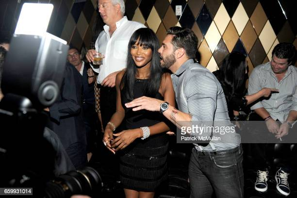 Naomi Campbell and Lorenzo Martone attend Party at WALL Hosted by VITO SCHNABEL STAVROS NIARCHOS ALEX DELLAL at WALL at the W SOUTH BEACH on December...
