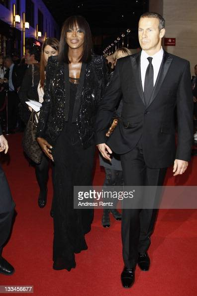 Naomi Campbell and Vladislav Doronin attend the 20th Unesco charity gala at Maritim Hotel on November 19 2011 in Duesseldorf Germany