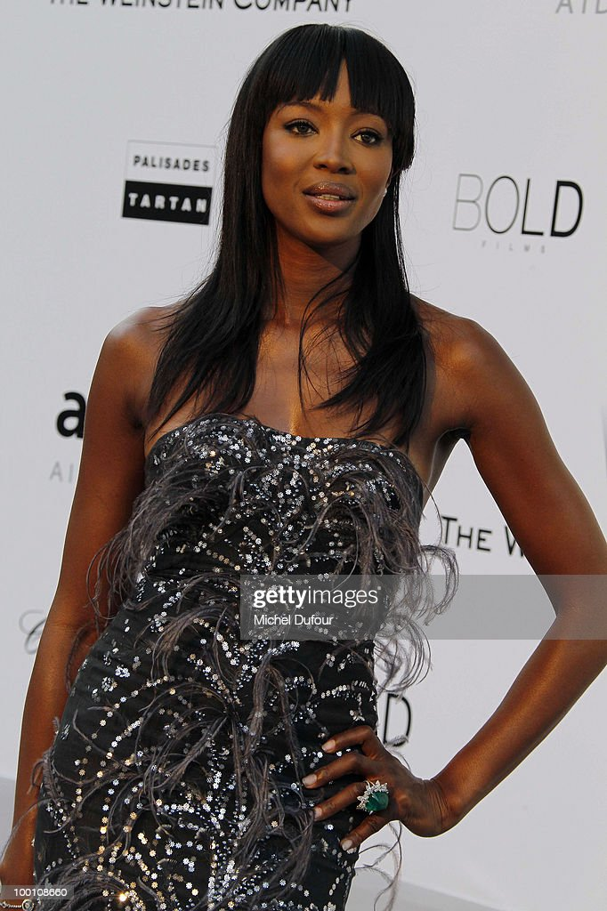 Naomi Campbell arrives at amfAR's Cinema Against AIDS 2010 benefit gala at the Hotel du Cap on May 20, 2010 in Cannes, France.