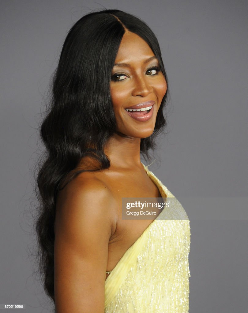 Naomi Campbell arrives at the 2017 LACMA Art + Film Gala honoring Mark Bradford and George Lucas at LACMA on November 4, 2017 in Los Angeles, California.