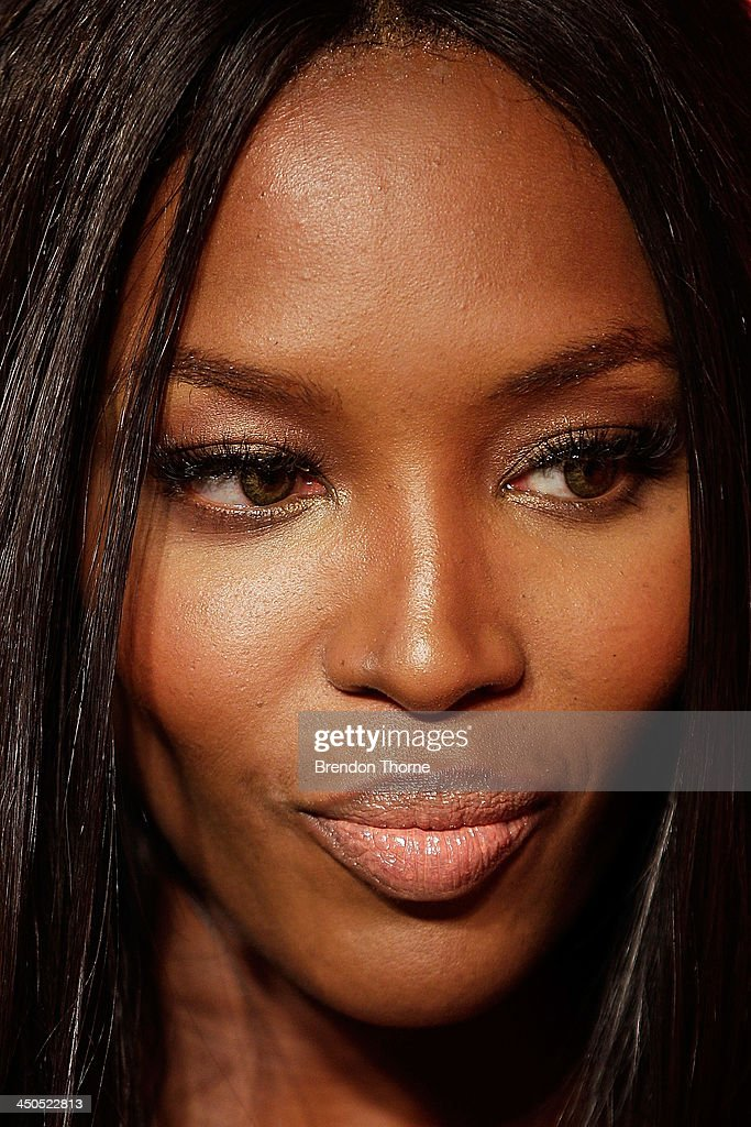 Naomi Campbell arrives at the GQ Men of the Year awards at the Ivy Ballroom on November 19, 2013 in Sydney, Australia.