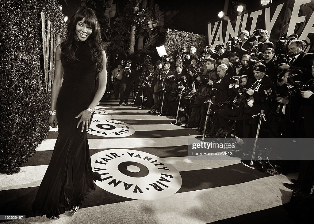 <a gi-track='captionPersonalityLinkClicked' href=/galleries/search?phrase=Naomi+Campbell&family=editorial&specificpeople=171722 ng-click='$event.stopPropagation()'>Naomi Campbell</a> arrives for the 2013 Vanity Fair Oscar Party hosted by Graydon Carter at Sunset Tower on February 24, 2013 in West Hollywood, California.