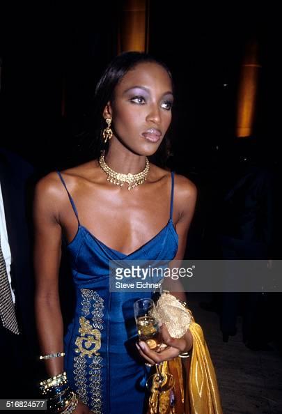 Naomi Campbell at Sean Puffy Combs' birthday celebration at Cipriani New York November 4 1998