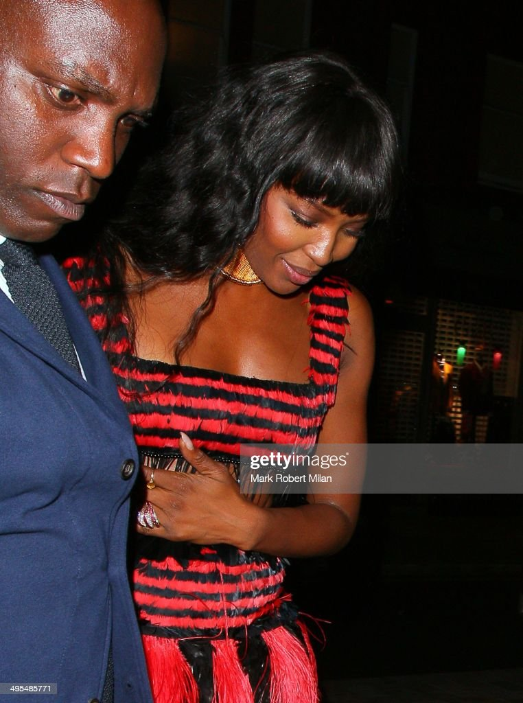 <a gi-track='captionPersonalityLinkClicked' href=/galleries/search?phrase=Naomi+Campbell&family=editorial&specificpeople=171722 ng-click='$event.stopPropagation()'>Naomi Campbell</a> at the Chiltern Firehouse on June 3, 2014 in London, England.