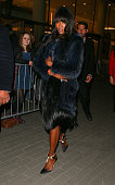Naomi Campbell attending the Elle Style Awards on February 24 2015 in London England