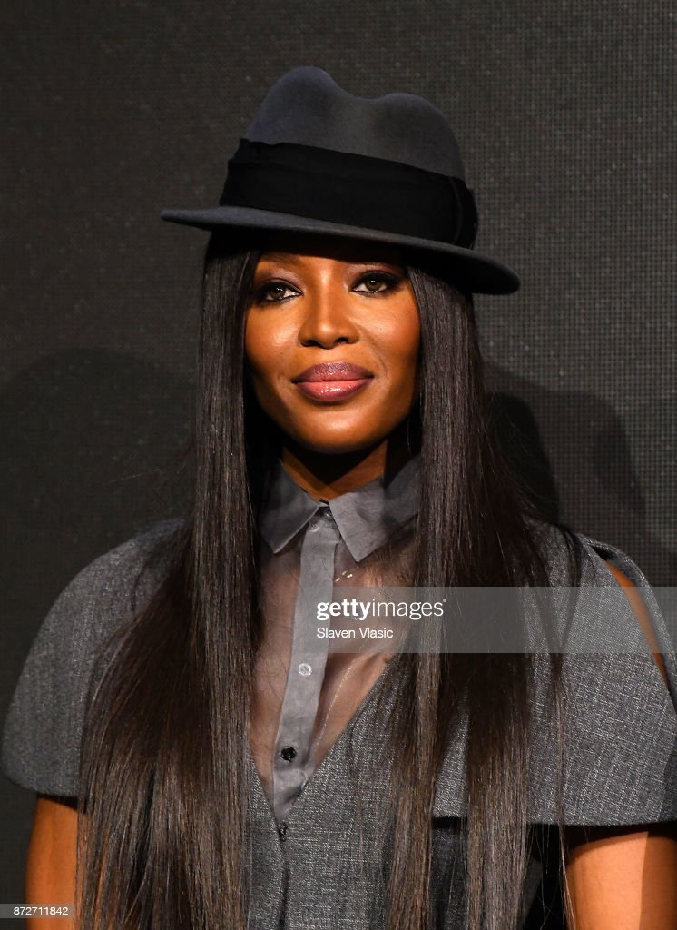 Naomi Campbell attends 2018 Pirelli Calendar launch press conference at The Pierre Hotel on November 10, 2017 in New York City.