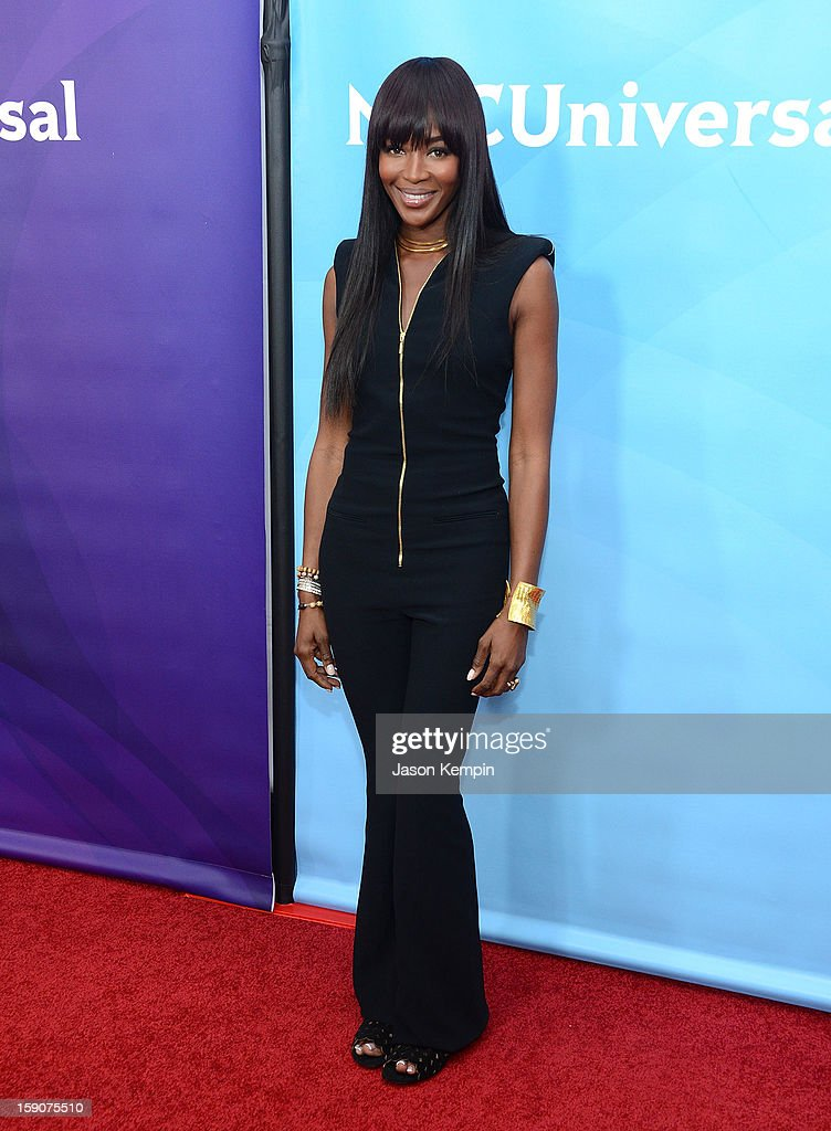 Naomi Campbell attends NBCUniversal's '2013 Winter TCA Tour' Day 2 at Langham Hotel on January 7, 2013 in Pasadena, California.