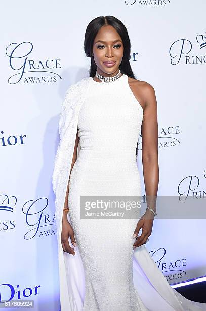 Naomi Campbell attends the 2016 Princess Grace awards gala at Cipriani 25 Broadway on October 24 2016 in New York City