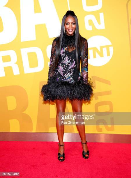 Naomi Campbell attends the 2017 NBA Awards at Basketball City Pier 36 South Street on June 26 2017 in New York City