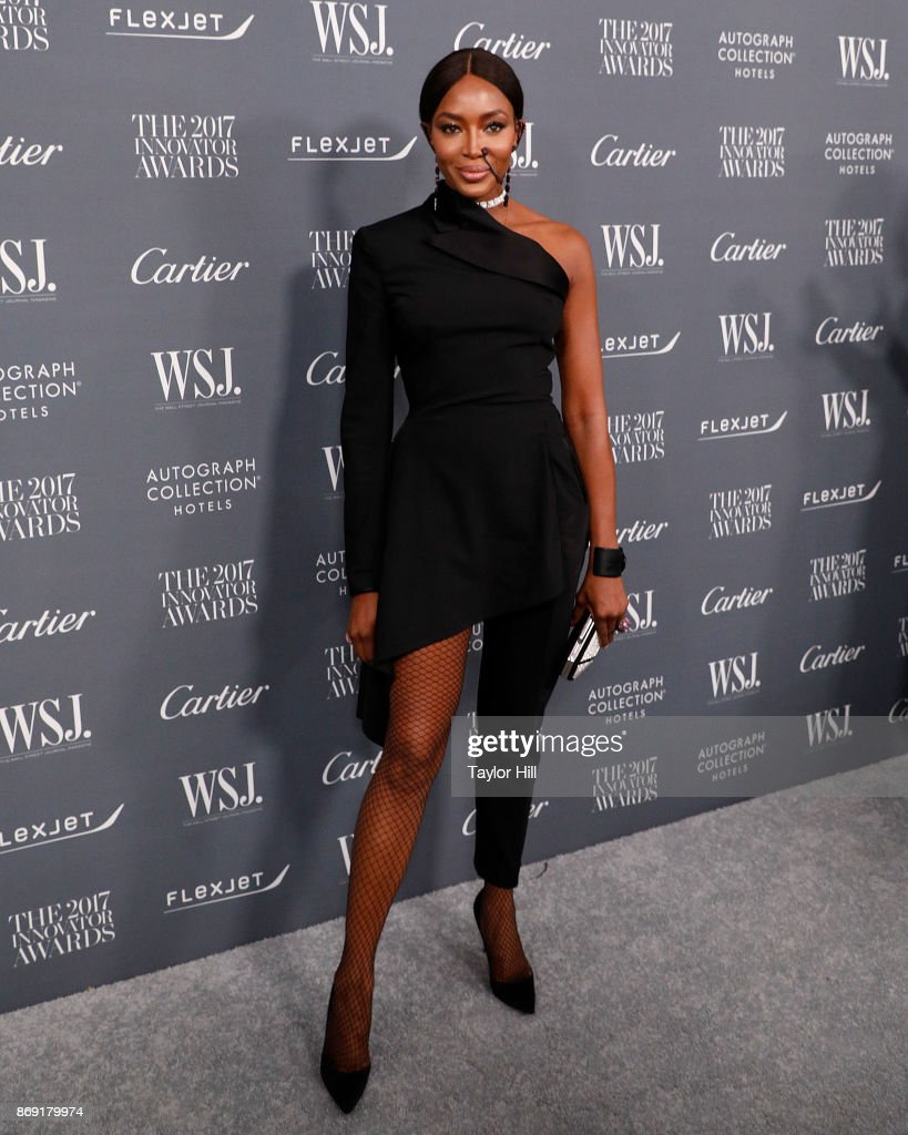 Naomi Campbell attends the 2017 WSJ Magazine Innovator Awards at Museum of Modern Art on November 1, 2017 in New York City.