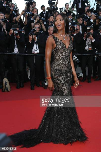 Naomi Campbell attends the 70th anniversary event during the 70th annual Cannes Film Festival at Palais des Festivals on May 23 2017 in Cannes France