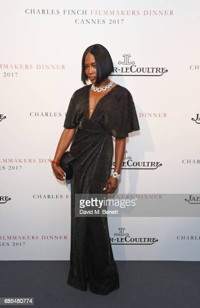 Naomi Campbell attends The 9th Annual Filmmakers Dinner hosted by Charles Finch and JaegerLeCoultre at Hotel du CapEdenRoc on May 19 2017 in Cap...