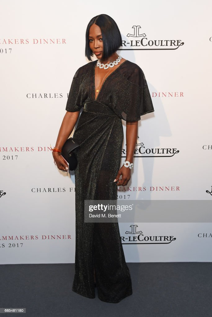 Naomi Campbell attends The 9th Annual Filmmakers Dinner hosted by Charles Finch and Jaeger-LeCoultre at Hotel du Cap-Eden-Roc on May 19, 2017 in Cap d'Antibes, France.