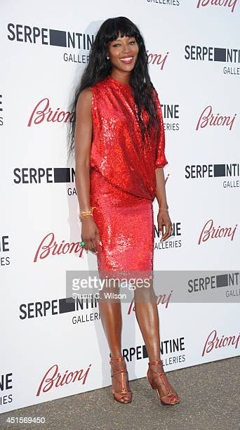 Naomi Campbell attends the annual Serpentine Galley Summer Party at The Serpentine Gallery on July 1 2014 in London England