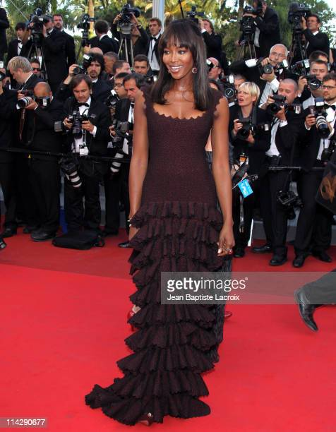 Naomi Campbell attends 'The Beaver' Premiere during the 64th Cannes Film Festival at Palais des Festivals on May 17 2011 in Cannes France