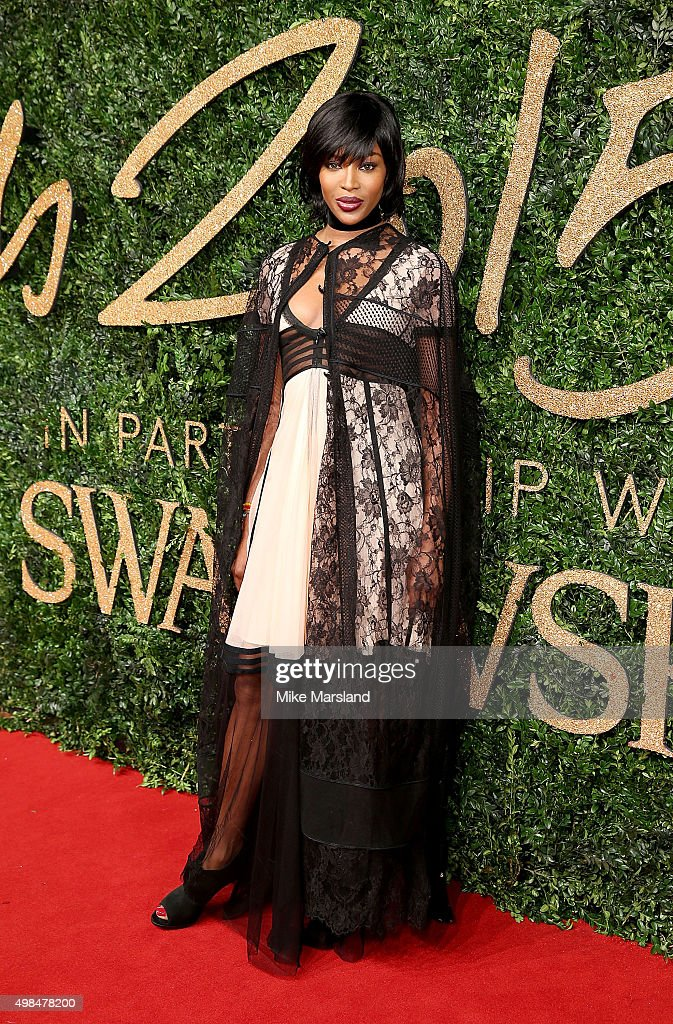 <a gi-track='captionPersonalityLinkClicked' href=/galleries/search?phrase=Naomi+Campbell&family=editorial&specificpeople=171722 ng-click='$event.stopPropagation()'>Naomi Campbell</a> attends the British Fashion Awards 2015 at London Coliseum on November 23, 2015 in London, England.