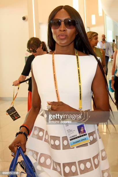Naomi Campbell attends the Cannes Lions Festival 2017 on June 20 2017 in Cannes France
