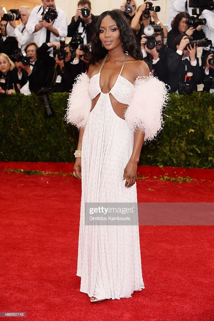 Naomi Campbell attends the 'Charles James: Beyond Fashion' Costume Institute Gala at the Metropolitan Museum of Art on May 5, 2014 in New York City.