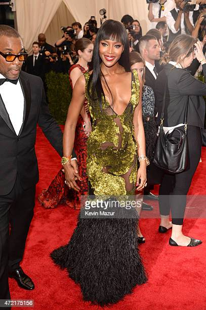 Naomi Campbell attends the 'China Through The Looking Glass' Costume Institute Benefit Gala at Metropolitan Museum of Art on May 4 2015 in New York...