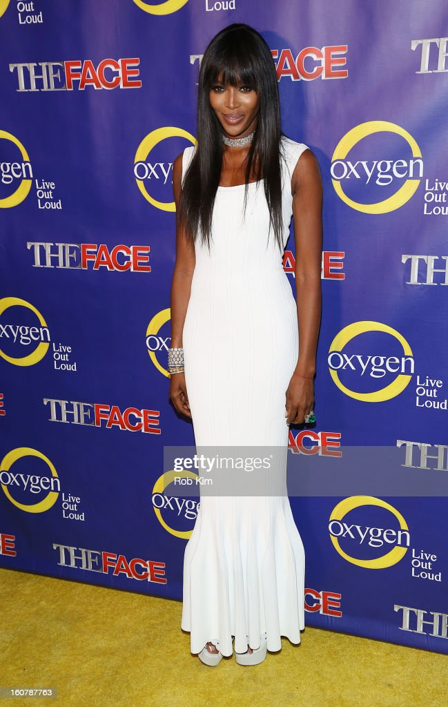 Naomi Campbell attends 'The Face' Series Premiere at Marquee New York on February 5 2013 in New York City