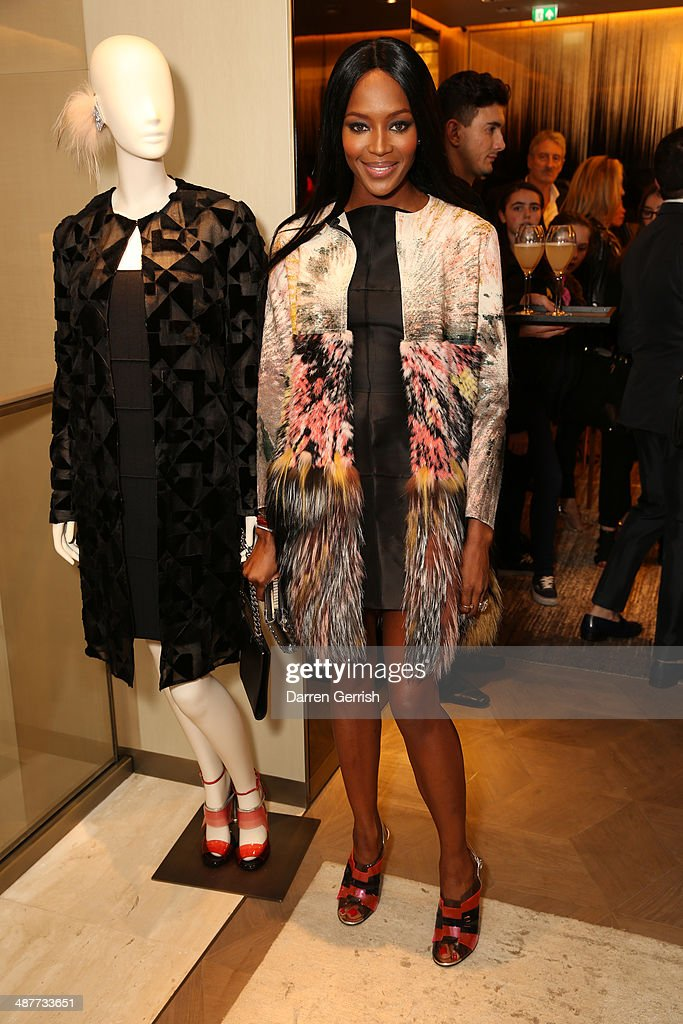 <a gi-track='captionPersonalityLinkClicked' href=/galleries/search?phrase=Naomi+Campbell&family=editorial&specificpeople=171722 ng-click='$event.stopPropagation()'>Naomi Campbell</a> attends the Fendi Flagship store launch at Fendi on May 1, 2014 in London, England.
