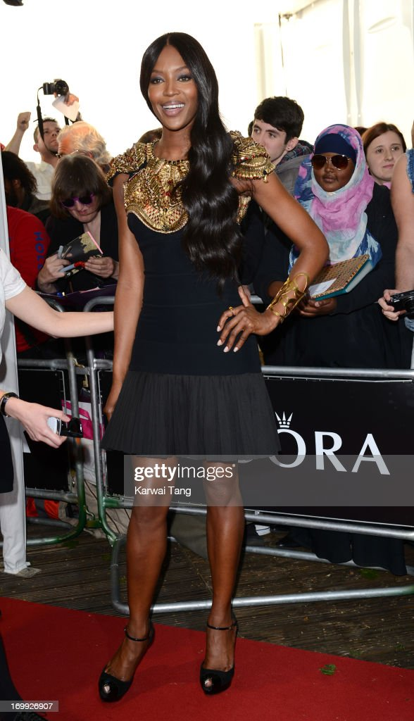 Naomi Campbell attends the Glamour Women of the Year Awards 2013 at Berkeley Square Gardens on June 4, 2013 in London, England.