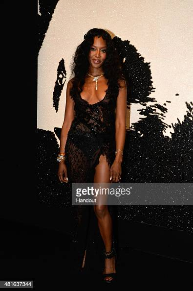Naomi Campbell attends The Leonardo DiCaprio Foundation 2nd Annual SaintTropez Gala at Domaine Bertaud Belieu on July 22 2015 in SaintTropez France