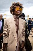 Street Style - Paris Fashion Week - Menswear F/W...