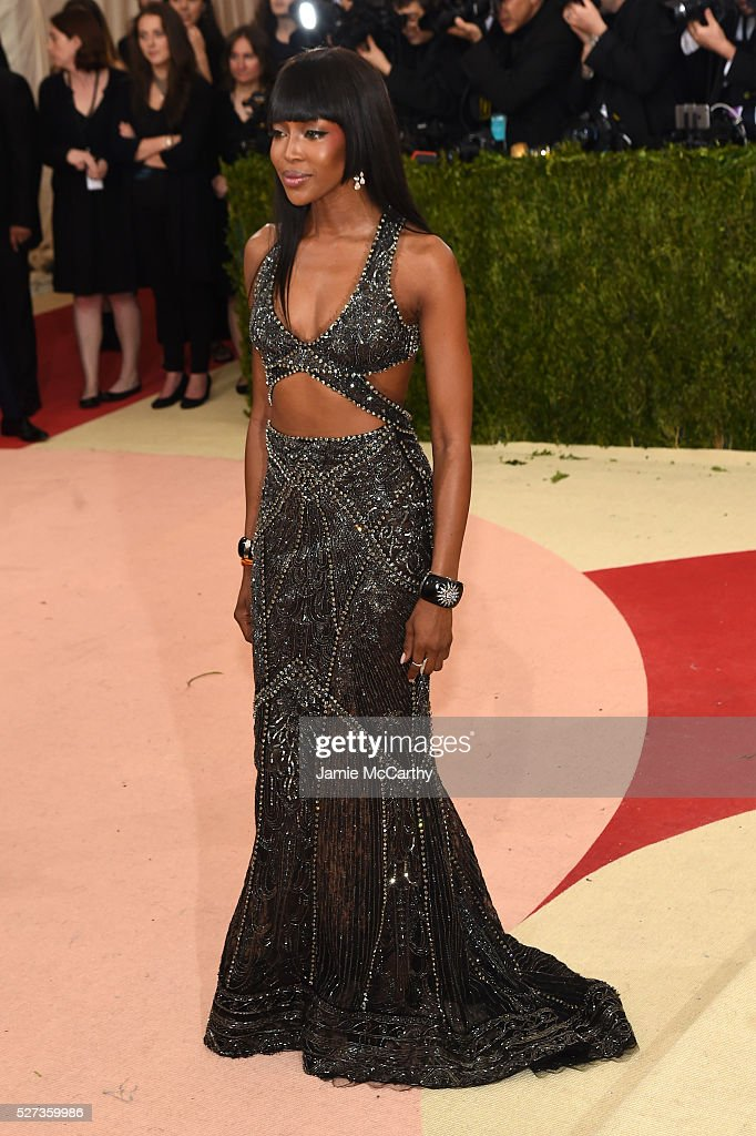 Naomi Campbell attends the 'Manus x Machina: Fashion In An Age Of Technology' Costume Institute Gala at Metropolitan Museum of Art on May 2, 2016 in New York City.