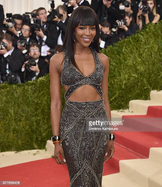 Naomi Campbell attends the 'Manus x Machina Fashion In An Age Of Technology' Costume Institute Gala at Metropolitan Museum of Art on May 2 2016 in...