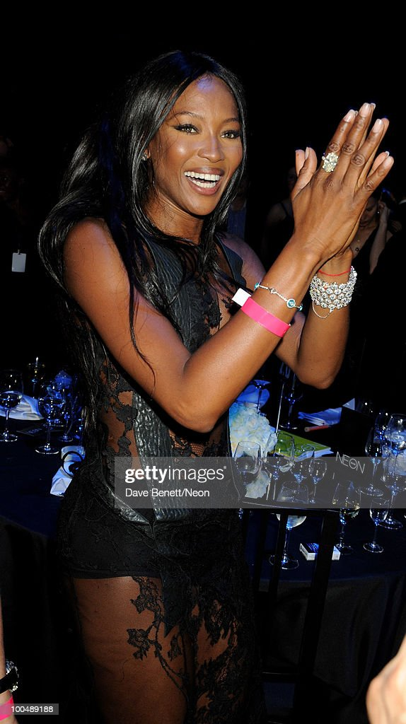 Naomi Campbell attends the NEON Charity Gala in aid of the IRIS Foundation at the Capital City on May 24, 2010 in Moscow, Russia.
