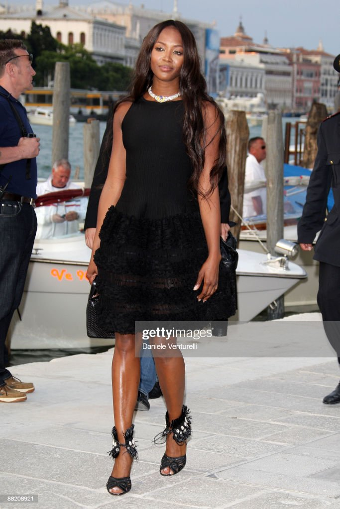 Naomi Campbell attends the opening of the New Contemporary Art Centre on June 4 2009 in Venice Italy
